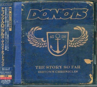 K - Donots Ibbtown Chronicles The Story So Far - 日版 2CD  NEW