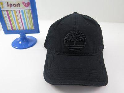 【iSport愛運動】TIMBERLAND  大樹LOGO 鴨舌帽 老帽 A1E9M001 主打 尺寸後可調 黑