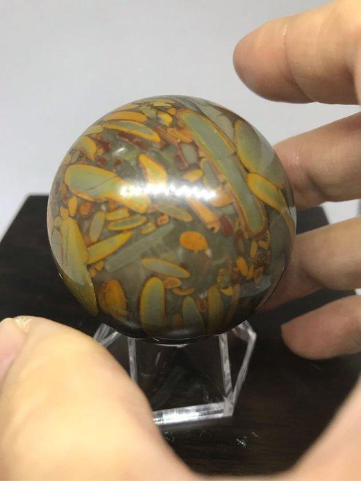 [晶藝坊]天然女媧石球5(46mm)