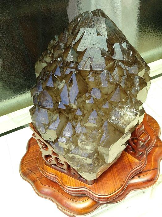 ~shalin-crystal~巴西六面完整鱷魚骨幹水晶~26公斤~除穢聚氣~化煞聚財~值得珍藏!