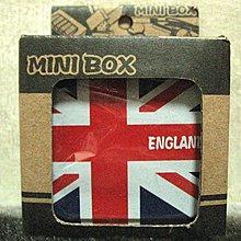 [狗肉貓]_全新日本帶回_小型攜帶造型菸灰缸_ENGLAND 英國國旗_送禮自用都很酷