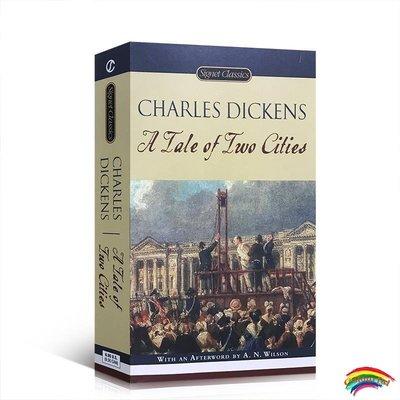 雙城記英文原版小說 A Tale of Two Cities 查爾斯 狄更斯 中學高中大學課文英文閱讀經典小說