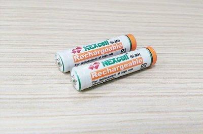 ✿國際電通✿【$38/顆】NEXcell 耐能 4號鎳氫超高容量充電電池 / 電容量1000mAh / 台灣製