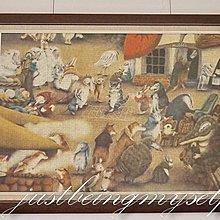 wachifield-dayan(瓦奇菲爾德,達洋)~貓咪拼圖錶框成品~冬大市
