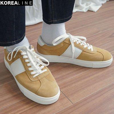 KOREALINE搖滾星球 / 休閒穿搭綁帶運動帆布鞋 / 2色 / EF994562