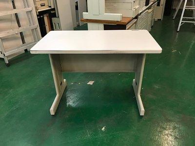宏品二手家具 家電 台中全新中古傢俱買賣 E110302*9成新oa HU二手辦公桌*電腦桌 書桌 兒童寫字桌 業務桌