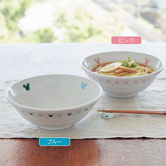迪士尼DISNEY《預購》米奇 多功能瓷器大碗/拉麵碗~共3色~日本製~心心小舖