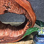 小葉紫檀,倒流香 擺件 檯座,風化料..天然隨形鏤空,層次分明,精工打磨 B24