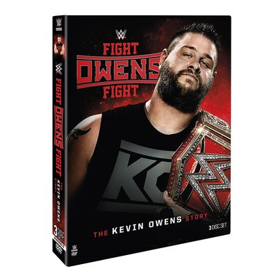 ☆阿Su倉庫☆WWE Fight Owens Fight The Kevin Owens Story DVD KO專輯