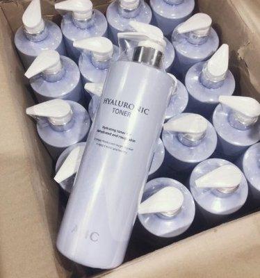 韓國AHC化妝水神仙水1000ml大瓶 B5高效玻尿酸爽膚水補水保濕青春露