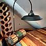 熱銷商品!!  船木桌燈/ 檯燈 燈罩可以180度旋...