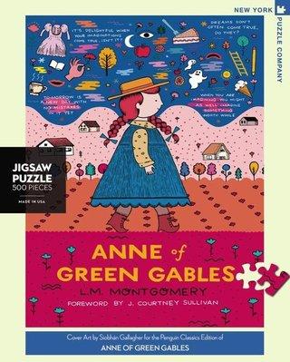 愛拼~美國進口拼圖  New York Puzzle 綠山墻的安妮 500片