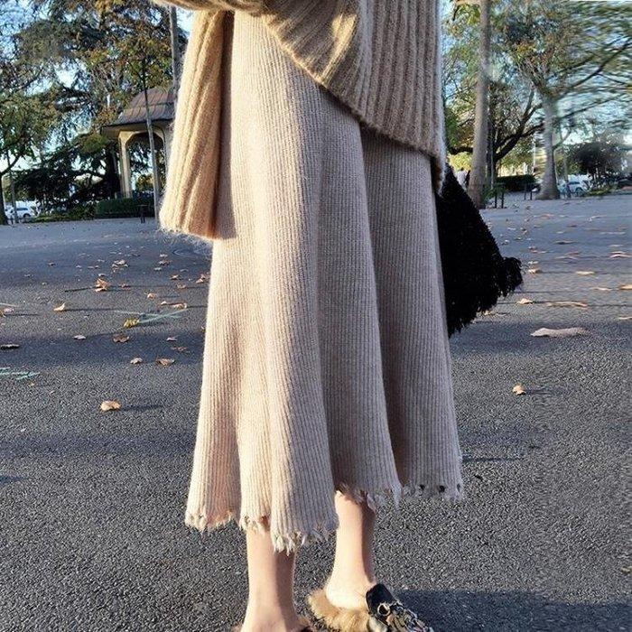 YEAHSHOP 新款韓版女裝高腰裙子Y185
