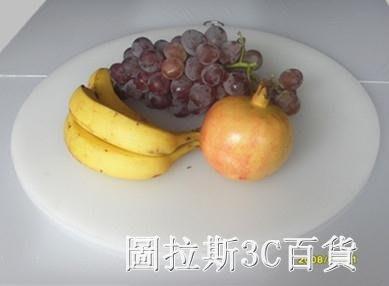 環保pe圓形塑料菜板加厚無毒無味切菜板砧板菜墩粘板肉墩刀板QM