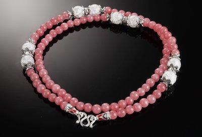 「還願佛牌」鎏金 琺瑯 泰國 佛牌 鍊 鏈 天然 佛牌 專用 掛鏈 鏈子 草莓晶