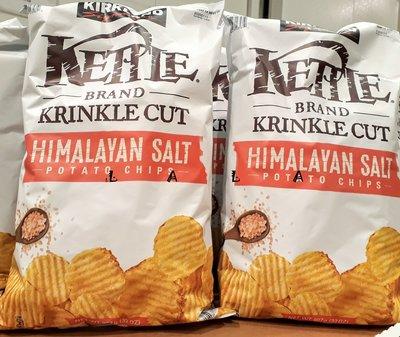 KIRKLAND 喜馬拉雅粉紅鹽洋芋片(每包907g) COSTCO好市多代購