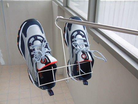 ☆成志金屬廠 ☆s -9-01 戶外晾乾用 不鏽鋼 曬鞋架,拖鞋架,可串連成兩雙