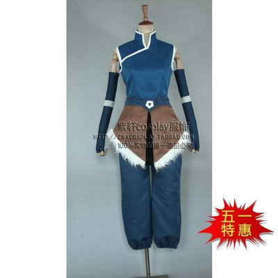 奇奇cosplay 女裝古裝 動漫降世神通科拉傳奇第四季科拉cos服裝女外套