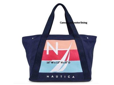 [美國精品屋] 美國品牌 NAUTICA 帆船圖案肩背包