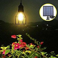 IB 奇點生活 + 分離式太陽能自動夜燈 (鐵籠款) Solar Bulb