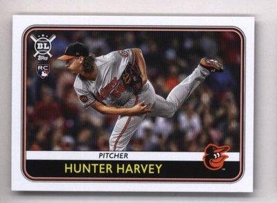2020 Topps Big League #62 Hunter Harvey - Baltimore Orioles RC