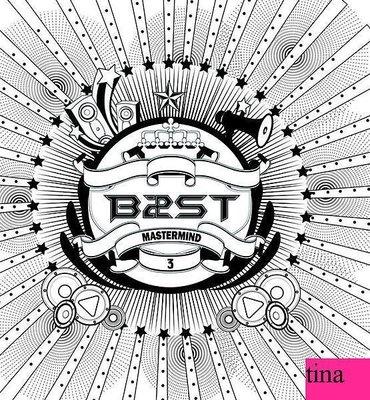 BEAST Mini Album Vol. 3 - Mastermind韓國原版第三張迷你專輯全新賢勝耀燮起光斗俊龍俊亨