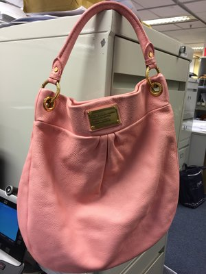 Marc Jacobs Classic Q Hiller Leather Hobo Bag (搬屋清貨)