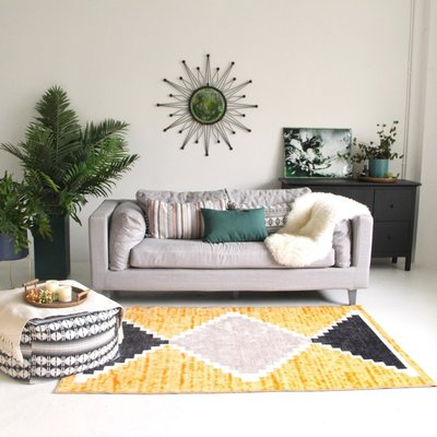 【Uluru】Candy 140x200 條毯 地毯 客廳 臥室 Loft 北歐風 工業風 zakka 無印良品