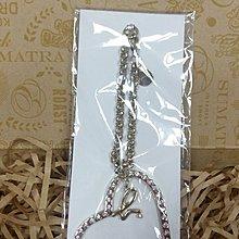 薇納歐小鋪~~日本 agnes b 銀色 愛心 經典b 包包吊飾