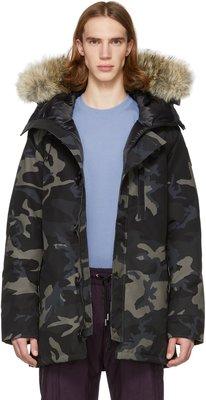 ~克莉絲丁時尚衣櫥~Canada Goose 黑標 Chateau 加拿大頂級防寒迷彩派克外套