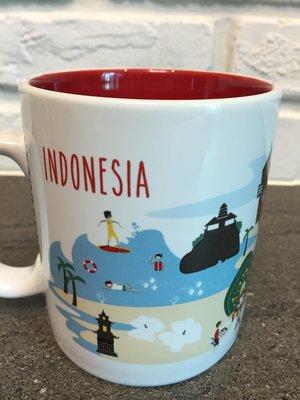 星巴克 印尼 城市馬克杯 16 fl oz 雅加達款 附有盒紙袋 可任選館內200元以內衣服、鞋 超過加價購