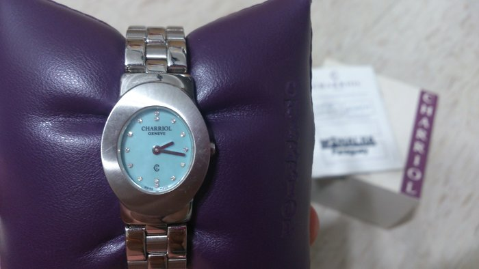 CHARRIOL 夏利豪 手錶 女錶 精品錶