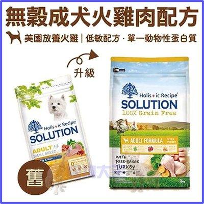 **貓狗大王**耐吉斯 成犬 火雞肉+田園蔬果/狗飼料/1.5公斤