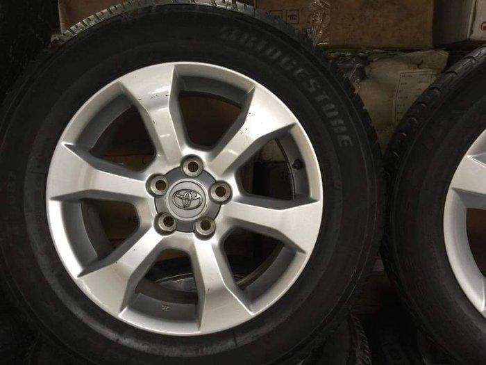 保證正品 5X114.3  TOYOTA 17吋鋁圈  新車卸下 一顆2600元  (總共有5顆)
