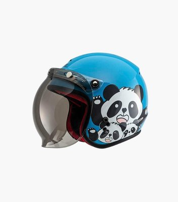 【魔速】SOL SO-9K 胖達 兒童 泡泡鏡 騎士帽 PANDA 全可拆內襯 簡易式插扣 眼鏡溝 抗UV鏡片
