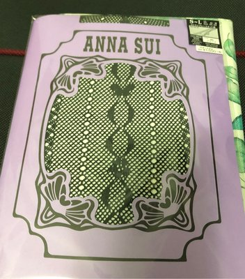 ANNA SUI (網襪)褲襪 黑色