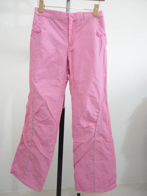 99元起標~bossini ~女童保暖長褲~粉色~SIZE:150