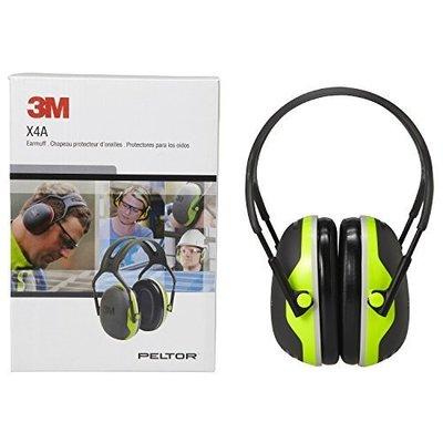 3M-X4A PELTOR頭戴式耳罩 工業防護 隔音耳罩 射擊 打靶 防音耳罩 NRR值 27dB