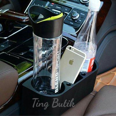 {butik } 汽車車載多 置物架 車用縫隙水杯架 手機架 置物盒