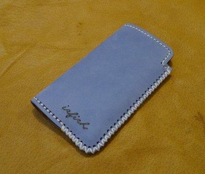 KH手工皮革工作室 MIT全牛皮Xperia5 Xperia 5 ll 直式手拿手機皮套 簡約手機包 配色自選客製商品