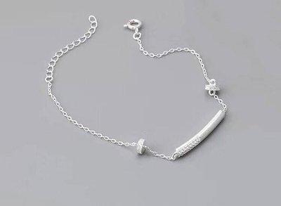 ※美麗萱言※《手鍊》925純銀 細緻款晶鑽純銀手鍊 精緻時尚 全新正品㊣現貨