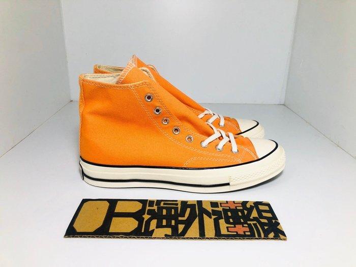 【OB海外連線】CONVERSE ALL STAR 1970 三星標 黑標 橘色 橘 帆布 高筒 男女 159622C