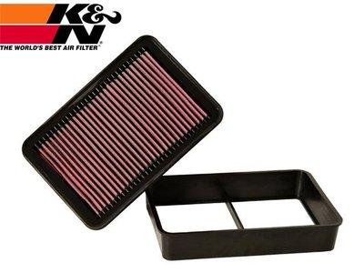 【Power Parts】K&N 高流量空氣濾芯 33-2392 LANCER FORTIS EVO OUTLANDER