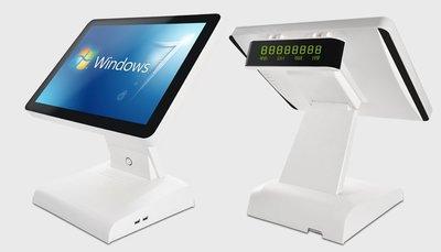 高品質15吋POS觸控主機+POS軟體收銀系統  餐飲POS系統