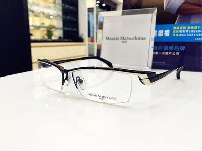 精光堂眼鏡 Masaki Matsushima 黑色鈦金屬鏡框 日本眼鏡時尚大獎肯定 松島正樹MF-1189 1189
