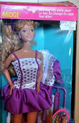 代購 芭比 MIDGE ALL STARS Barbie 美芝 甜美麻子 絕版1989