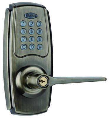衛迅科技 ~ 加安牌 FAULTLESS 電子 密碼鎖 輔助鎖 【免配線】可 DIY 快速安裝 ~ 居家 套房 宿舍專用
