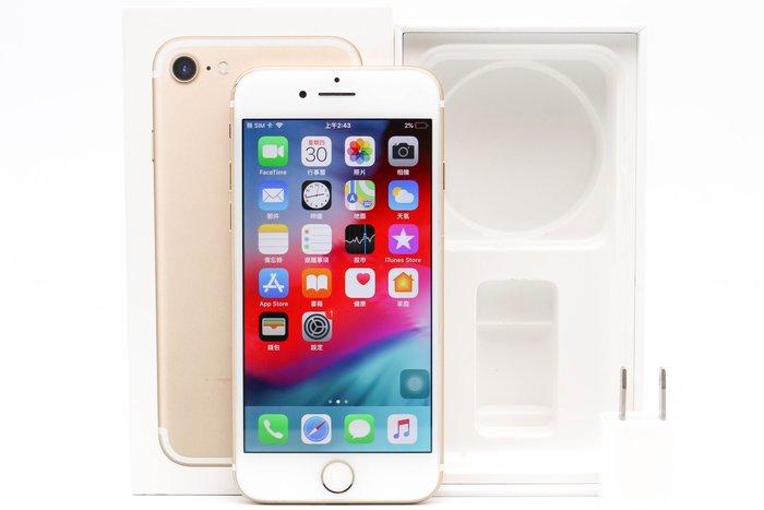 【高雄青蘋果3C】APPLE IPHONE 7 128G 128GB 金 4.7吋 二手手機 蘋果手機#38503