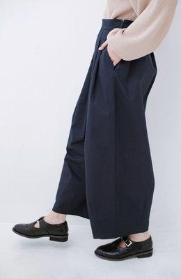 haco!  四季通用款 可愛的立體飽滿圓弧度 純棉九分寬褲 (現貨款特價)