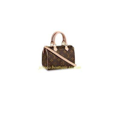 現貨  LV Louis Vuitton  NANO SPEEDY - M61252